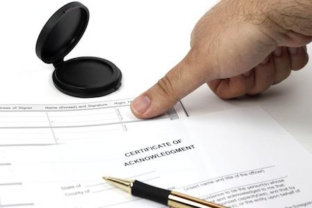 تطبیق اثر انگشت کارت ملی در دفتر اسناد رسمی